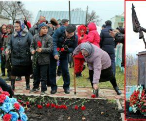 В Липецкой области открыли памятник воинам 112-й Башкавдивизии