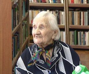 101-летняя пенсионерка участвовала в конкурсе  «Спасибо интернету!»