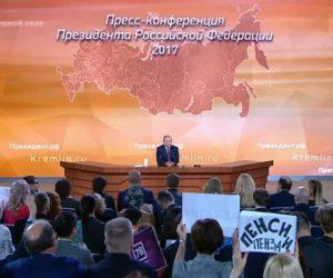 Владимир Путин: «Вопрос повышения пенсионного возраста пока не решен»
