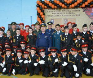 В селе Булгаково состоялось торжественное посвящение в кадеты