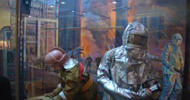 В память о пожарных, погибших на Уфимском нефтеперерабатывающем заводе