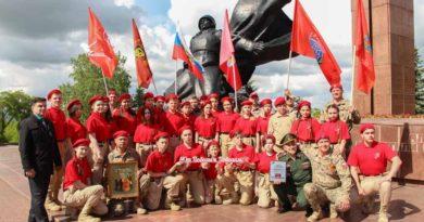 В Уфе состоялась встреча участников автопробега «Юнармия – от Победы к Победам!»