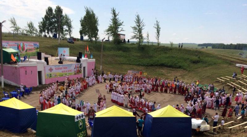 Активисты «Боевого Братства» приняли участие во II Республиканском празднике чувашской культуры