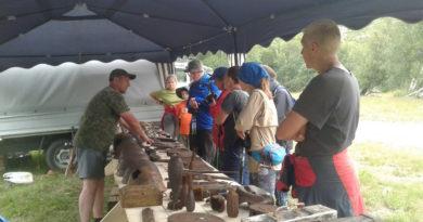 Поисковики из Башкортостана участвуют в фестивале «Заоблачный фронт» на Эльбрусе