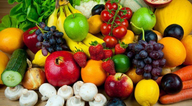 Овощи и фрукты замедляют процессы старения организма