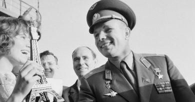 Юрий Гагарин — покоритель космоса и борец за мир