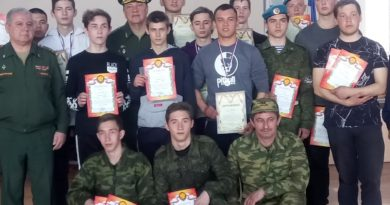 Спартакиаду призывников посвятили 74-й годовщине Победы