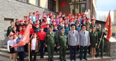 В Уфе Герой Советского Союза Николай Антошкин принял участие в мероприятиях «Юнармии»
