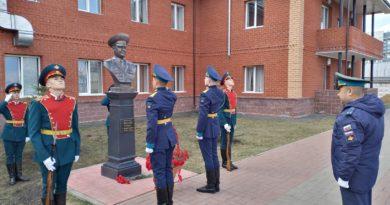 В Башкортостане открыт бюст полковнику Салавату Якупову