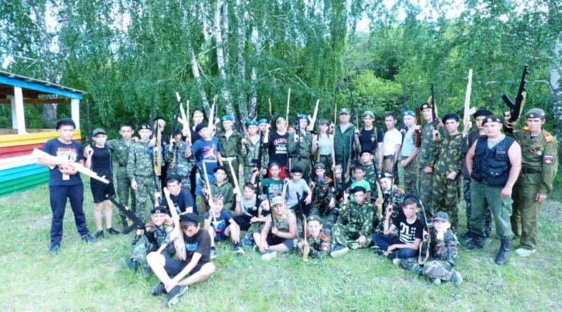 В Сибае ветераны боевых действий провели занятие в военно-патриотическом лагере