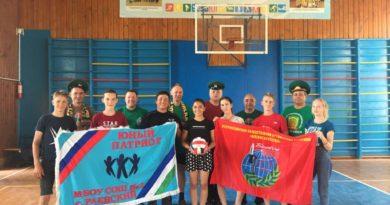Состоялся товарищеский матч между ветеранами и воспитанниками лагеря «Юный патриот»