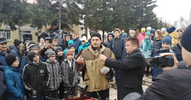 В Илишевском районе прошла военно-патриотическая акция