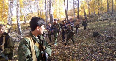 В Сибае воспитанники военно-патриотического клуба «Отвага» совершили учебно-полевой выход