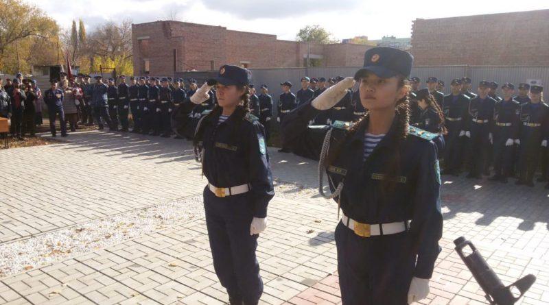 В Мелеузе состоялась церемония посвящения в кадеты