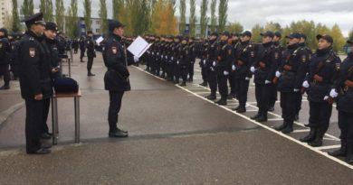 Первокурсники Уфимского юридического института МВД России приняли Присягу