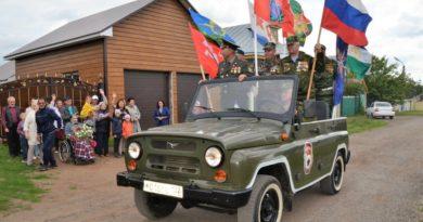 В Илишевском районе чествовали ветеранов Великой Отечественной войны