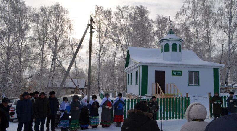 В селе Акташево по инициативе ветерана боевых действий построена мечеть