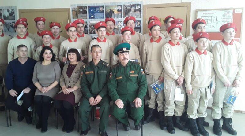 В Хайбуллинском районе прошли соревнования «Курс молодого бойца»