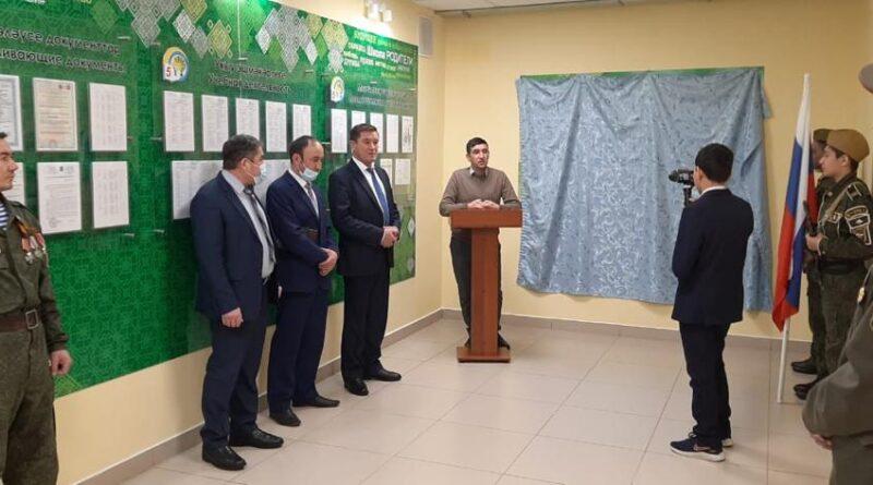 В школе №5 Баймака открыли экспозицию «Есть такая профессия — Родину защищать!»