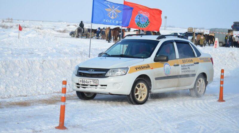 В Хайбуллинском районе ветераны участвовали в зимних соревнованиях