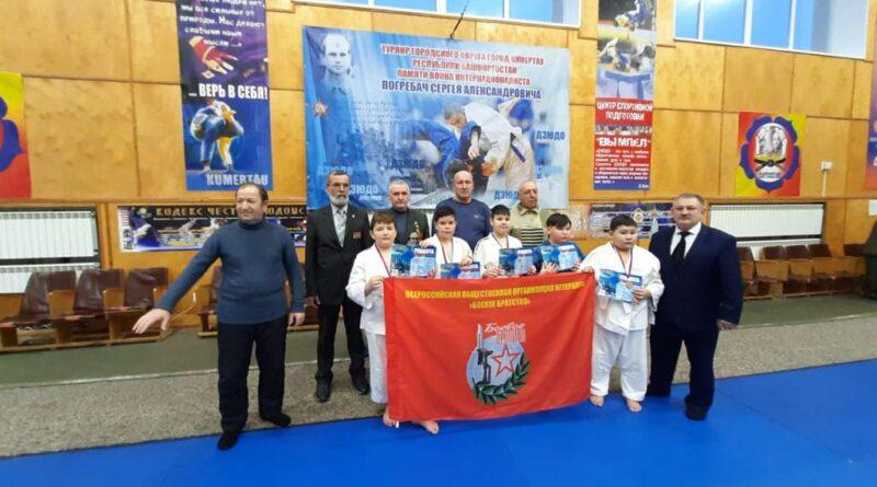 В Кумертау прошёл турнир по дзюдо памяти воина-интернационалиста Сергея Погребача