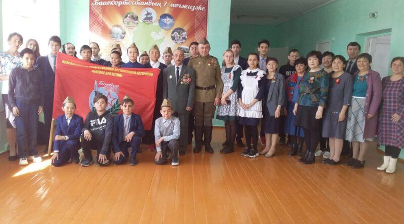 В селе Бекешево ветеран «Боевого братства» провёл урок мужества