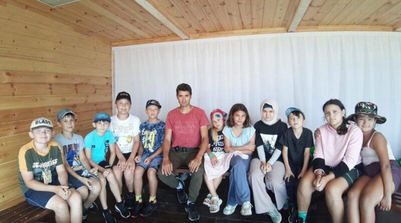 В Сибае состоялся урок мужества с воспитанниками военно-патриотического лагеря