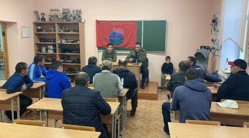 В Баймаке прошёл круглый стол по вопросу военно-патриотического воспитания