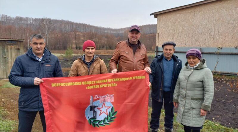 Айдару Нигматуллину из Бураевского района вручена медаль «Ветеран боевых действий»
